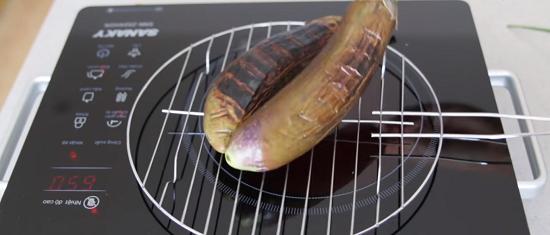 Cách làm cà tím nướng mỡ hành thơm ngon 3