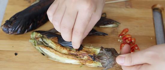 Cách làm cà tím nướng mỡ hành thơm ngon 4