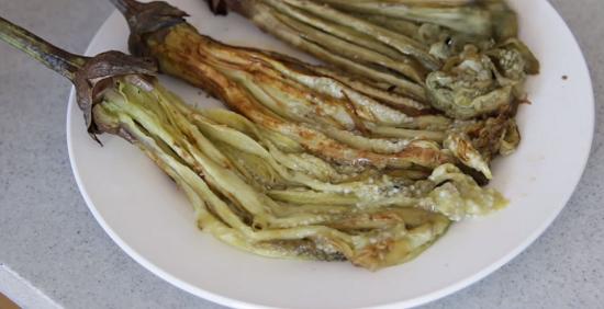 Cách làm cà tím nướng mỡ hành thơm ngon 7